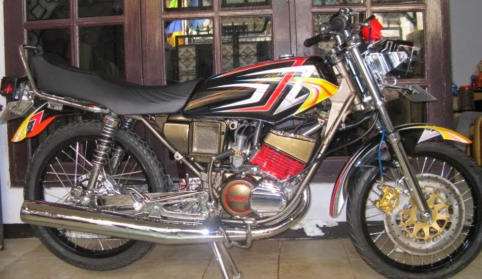 MODIFIKASI MOTOR YAMAHA RX KING COBRA   Yamaha Motor
