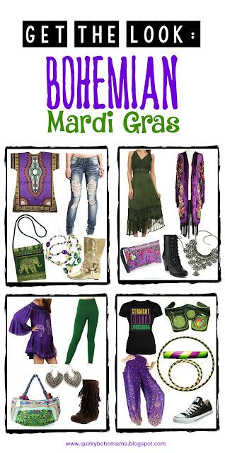 Bohemian Mardi Gras {Mardi Gras Fashion}