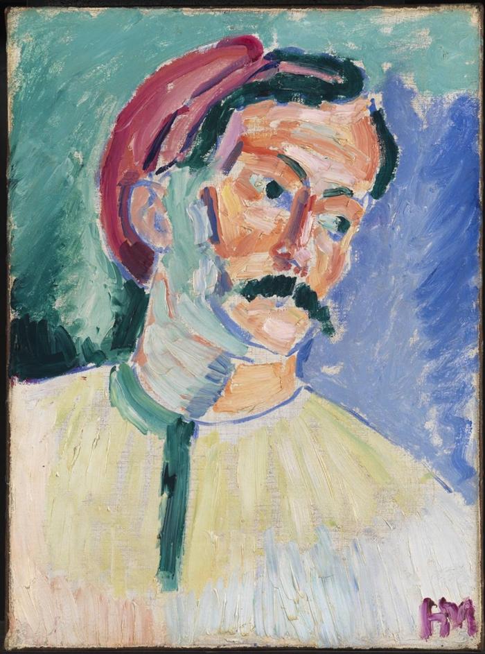 André Derain by Henri Matisse, 1905