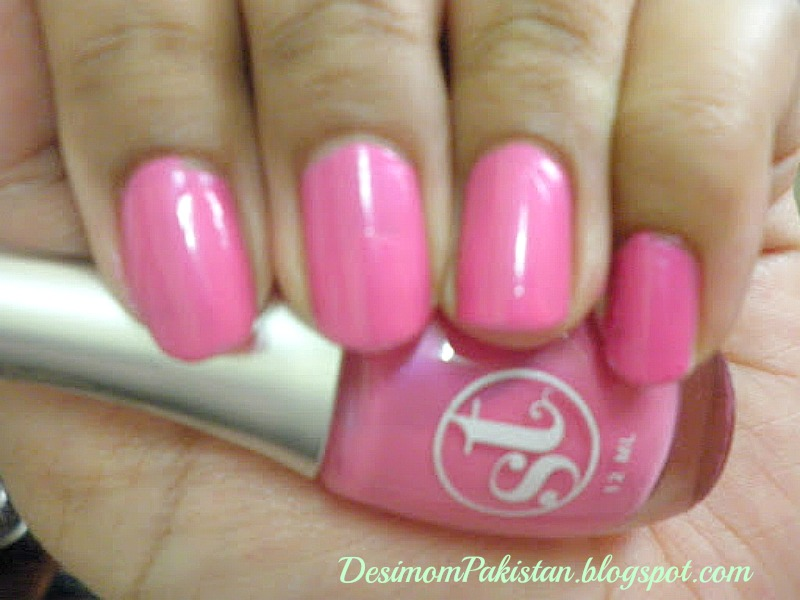 SWEET TOUCH NAIL POLISH In 1043 POWDER PINK
