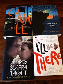 International book covers for I'LL BE THERE