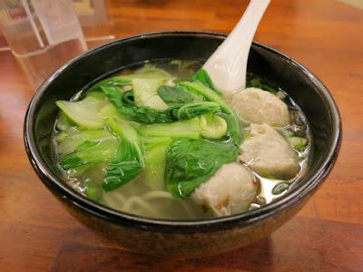 Taiwan Eats: Warm Meatball Noodle Soup at Jiaoxi Hot Springs, Yilan