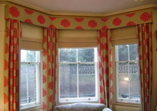Window treatments by melissa ask melissa how to combine for Blind ideas for bay windows
