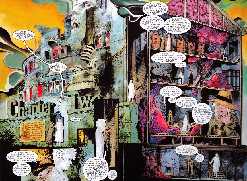 Sandman Overture # 2 - Neil Gaiman J.H. Williams III
