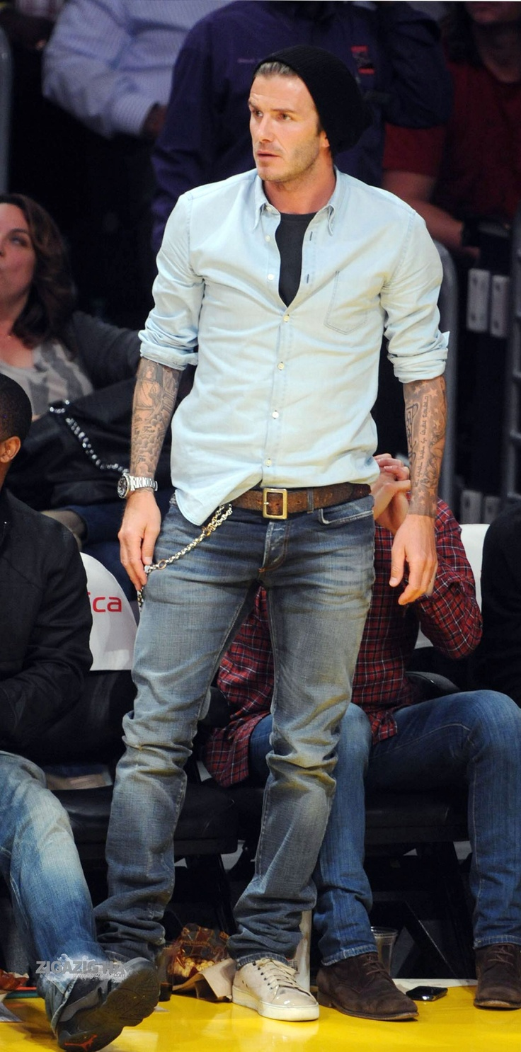 Agb Style Street Style David Beckham