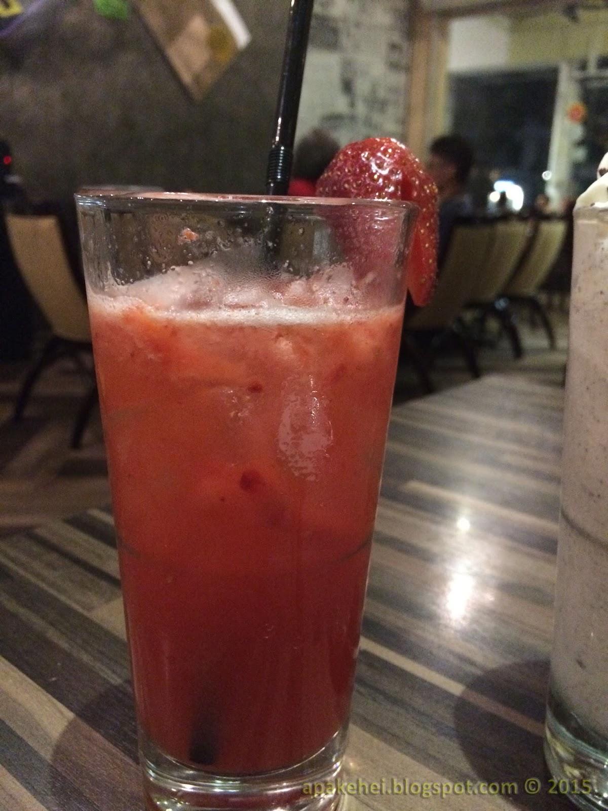 Strawberry jus