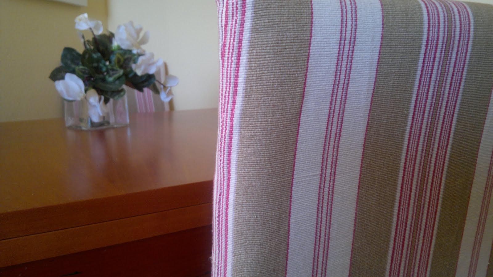 Fundas para las sillas de comedor ( costura) ~ Juntitoscrafts punto ...