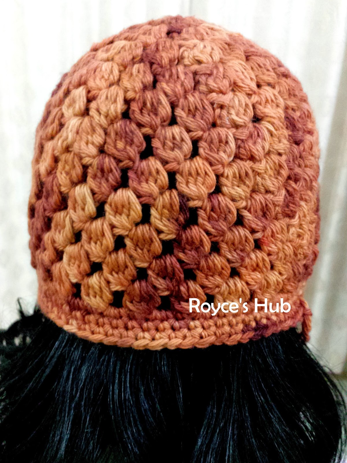 Royce\'s Hub: The Raining Acorns Crochet Beanie with Pattern