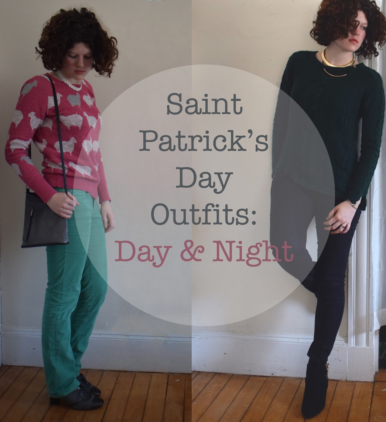 Saint Patrick's Day Outfits: Day & Night | Pennies & Paper Blog