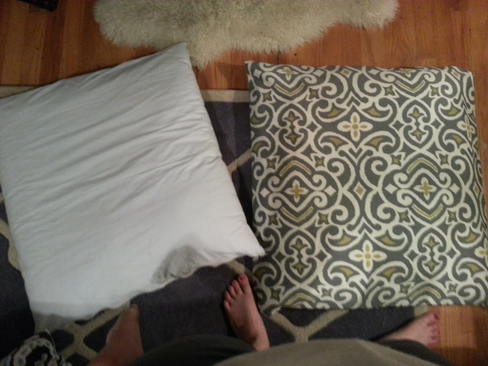 DIY: No-Sew Dog Pillow Covers & Erie-sisti-Bull: DIY: No-Sew Dog Pillow Covers pillowsntoast.com
