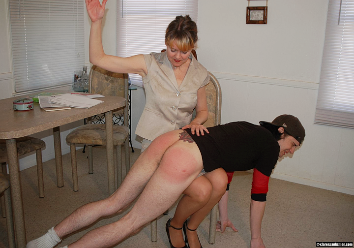 Naughty Boy Otk Punished, Free Spanking Porn ef: