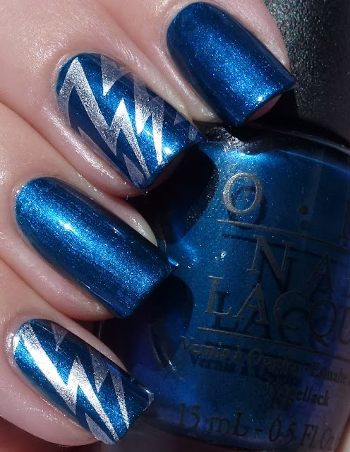 Unfor-Greta-bly Blue, OPI Germany collection, swatch, Bundle Monster BM305