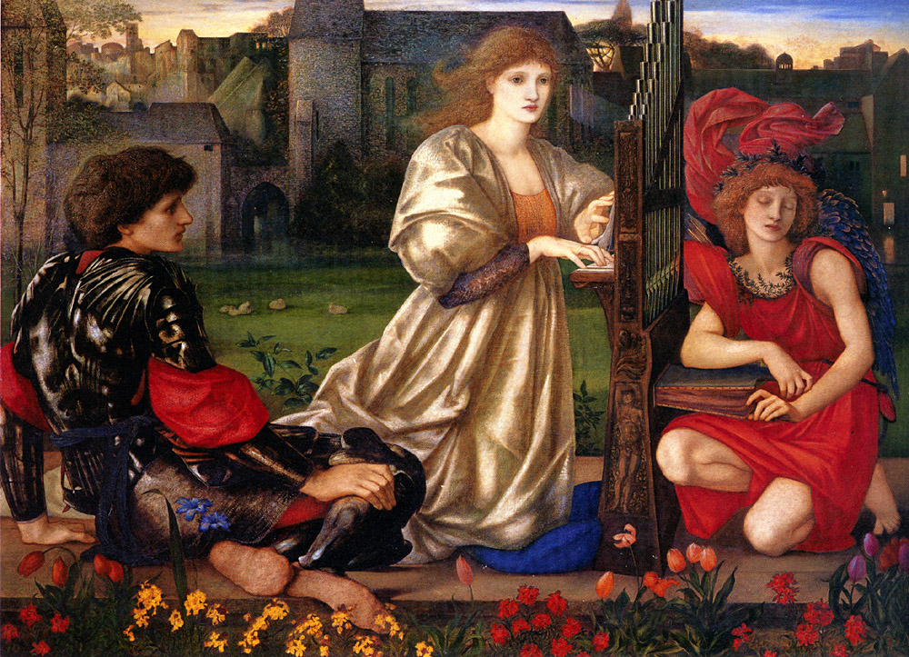 Edward Burne-Jones love