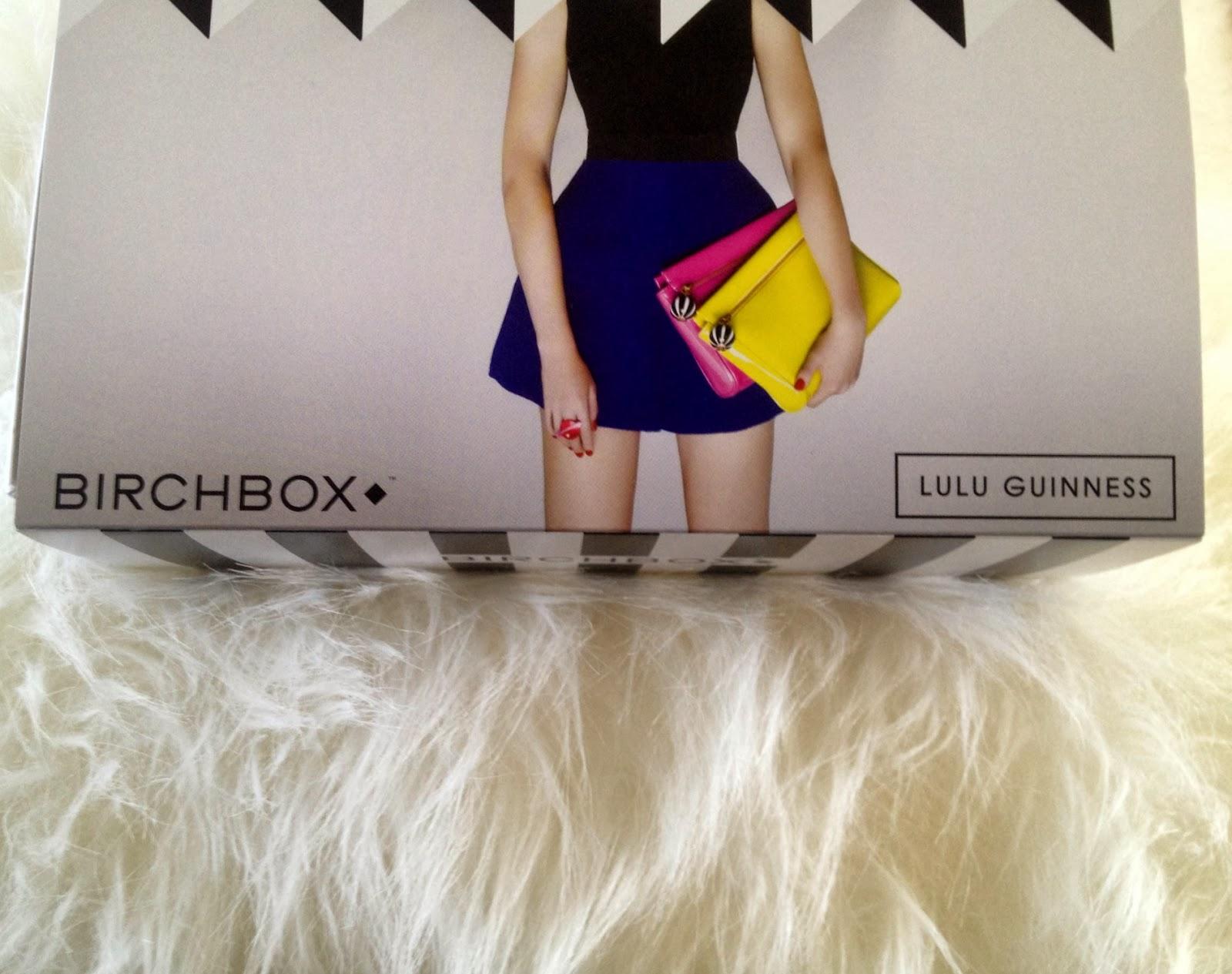 Birchbox LuLu Guiness edition