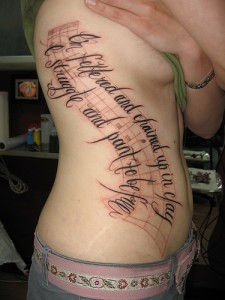 Rib Cage Tattoos-Tattoo Ideas And Designs ~ Tattoo Pictures