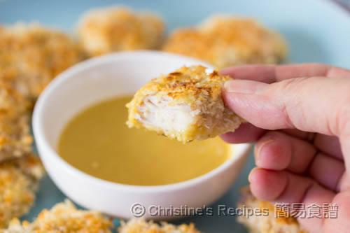 焗雞塊配法式蜜糖芥辣醬 Baked Chicken Nuggets03