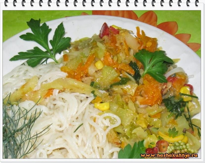Макаронная запеканка с кабачком – рецепт с фото