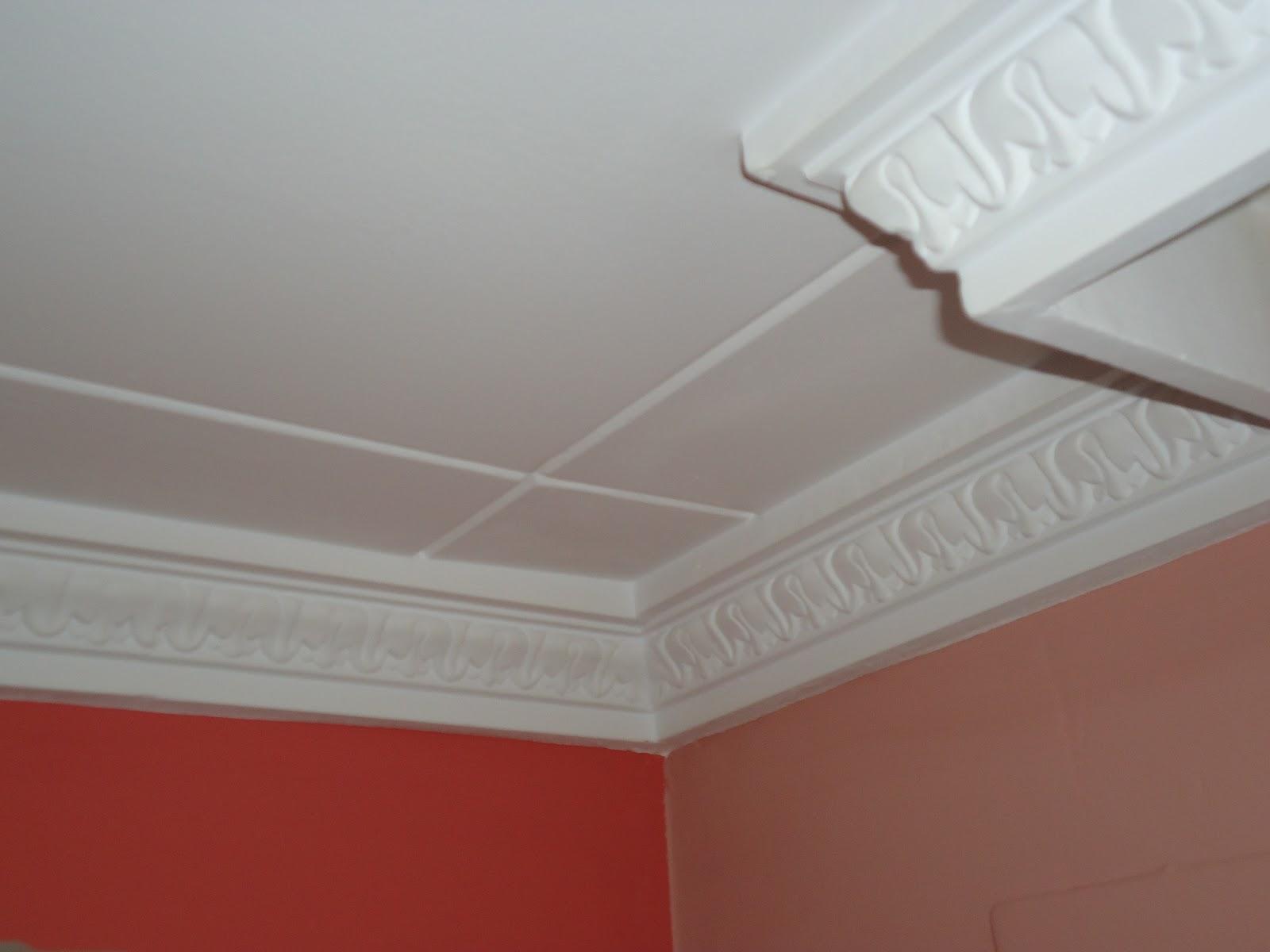 Cornisa decorativa de escayola quiero reformar mi casa - Molduras para techos y paredes ...