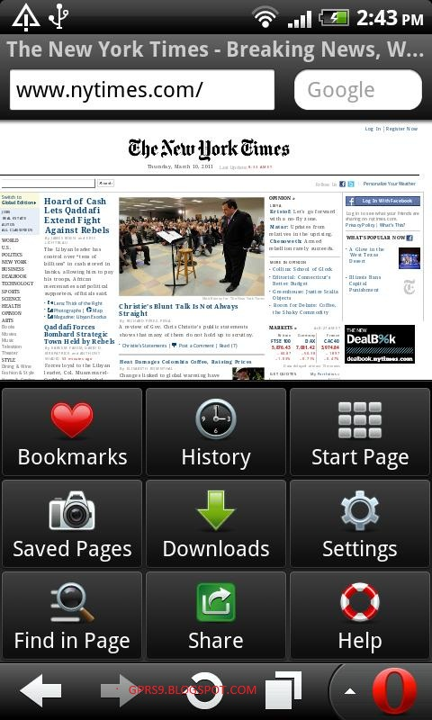 opera mini browser latest version for mobile