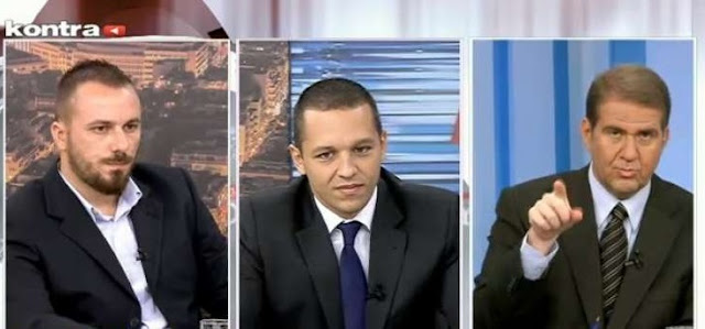 Οι Συναγωνιστές Ηλίας Κασιδιάρης και Ευάγγελος Καρακώστας στο Kontra Channel για το πρόγραμμα της Χρυσής Αυγής - ΒΙΝΤΕΟ