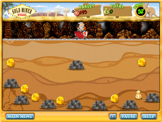 Flash Game: game đào vàng 7