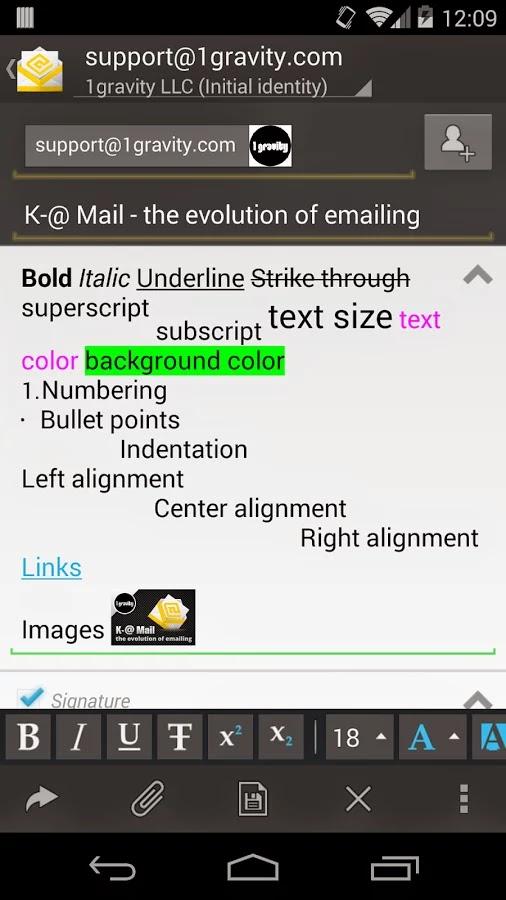 K-@ Mail Pro - email evolved v1.5.8