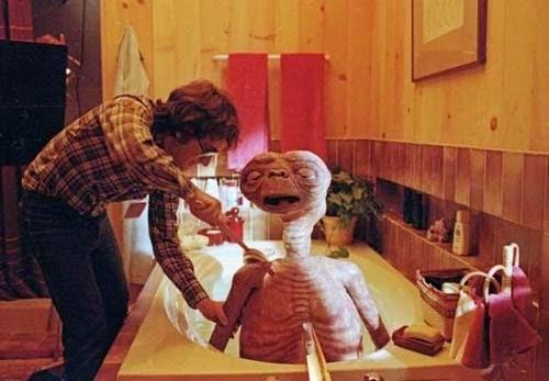 E.T. (1982)-fotos rodajes años 80