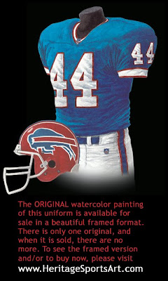 Buffalo Bills 2000 uniform
