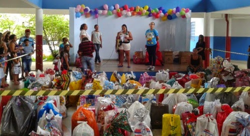 JM da Diocese de Guarulhos participa de Ação de Natal em creche