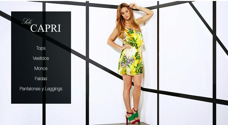 Oferta de ropa para mujer de la marca Solo Capri
