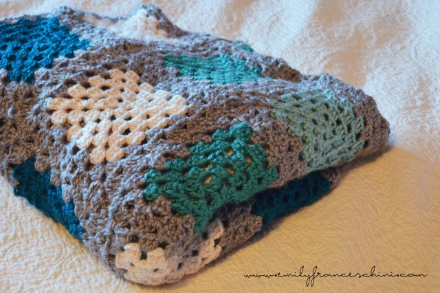 http://www.emilyfranceschini.com/crochet-granny-square-blanket/