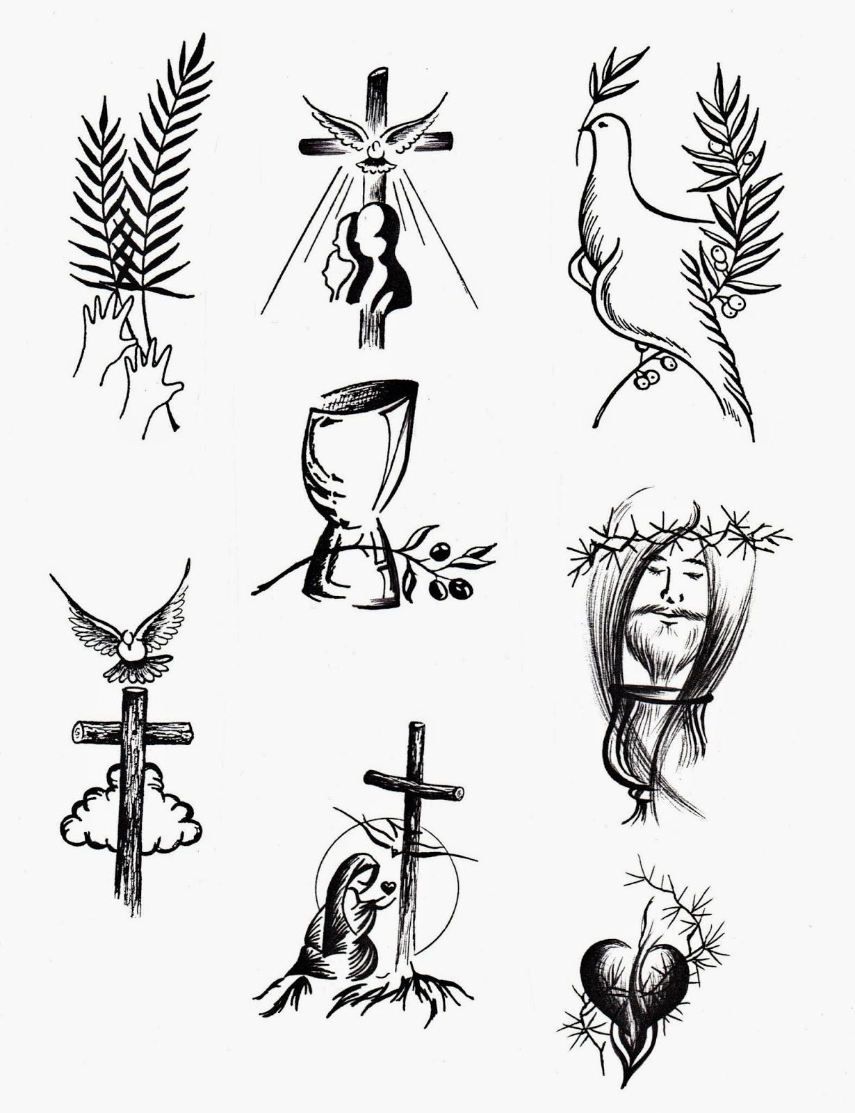El Rincón de las Melli: Dibujos de Semana Santa