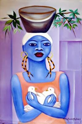 Haitianarts quadro pace pueblo principe