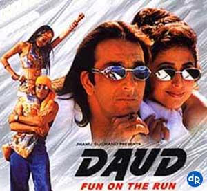 Poster Of Bollywood Movie Daud (1997) 300MB Compressed Small Size Pc Movie Free Download worldfree4u.com