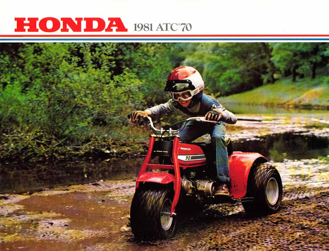 HONDA ATC Advertising from 1981