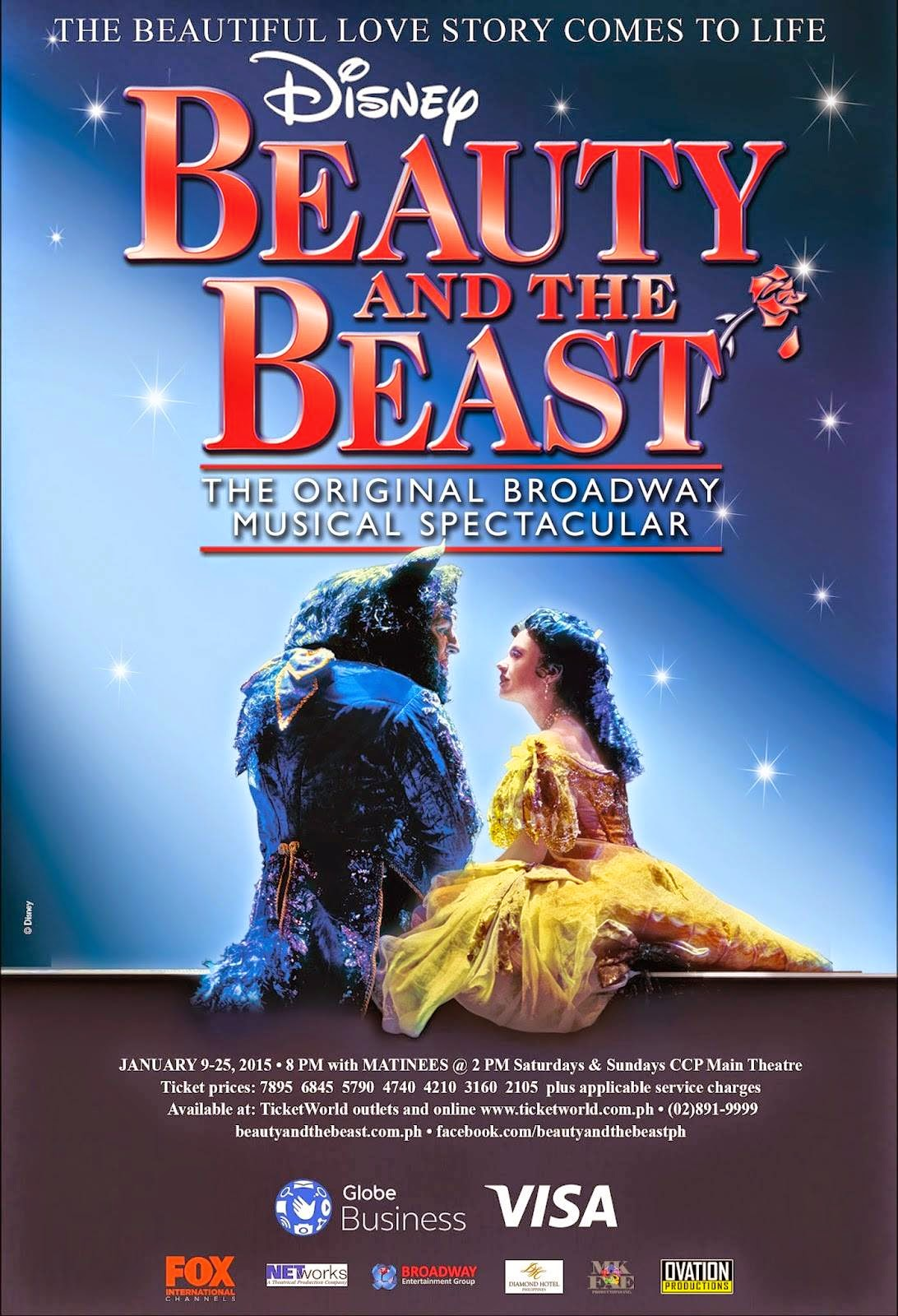 GET BEAUTY AND THE BEAST TICKETS HERE