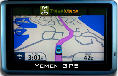 Yemen Garmin iPhone Android GPS Map