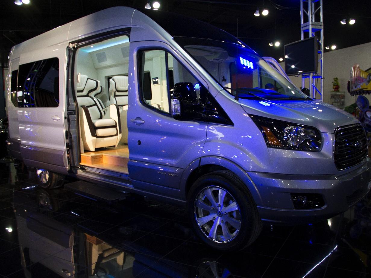 True Luxury Found in Ford Transit Skyliner Concept