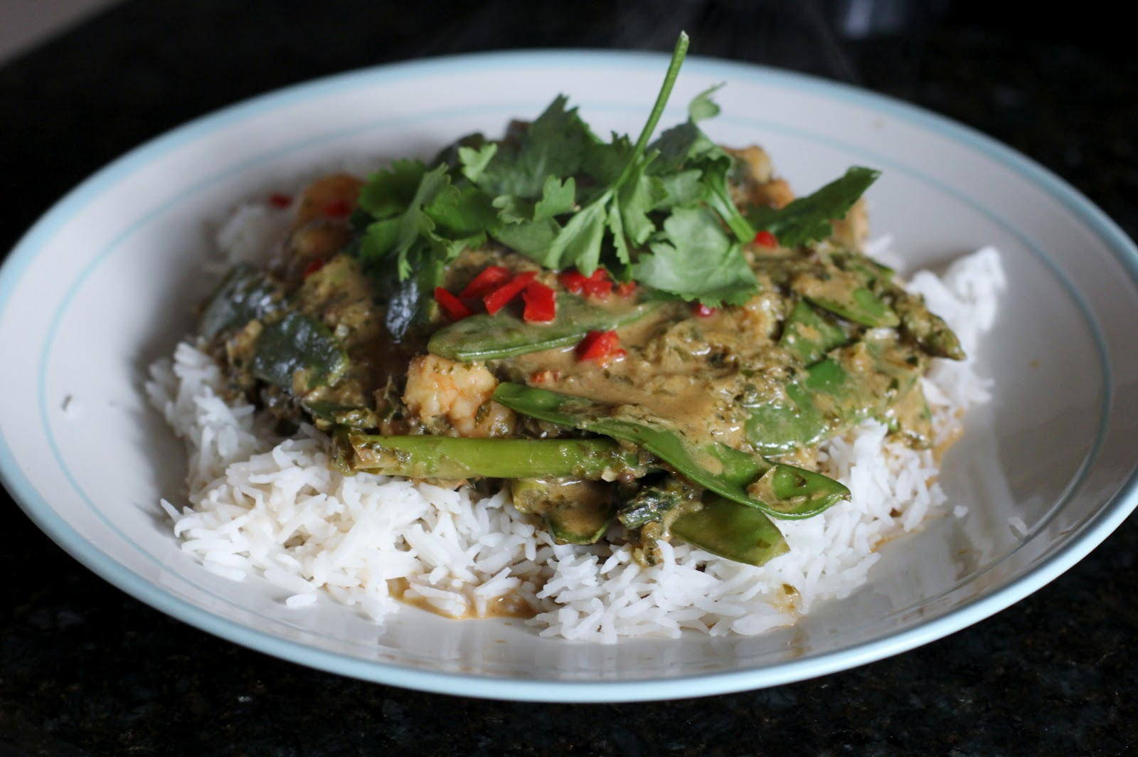 intotheblonde...: Thai Green Curry