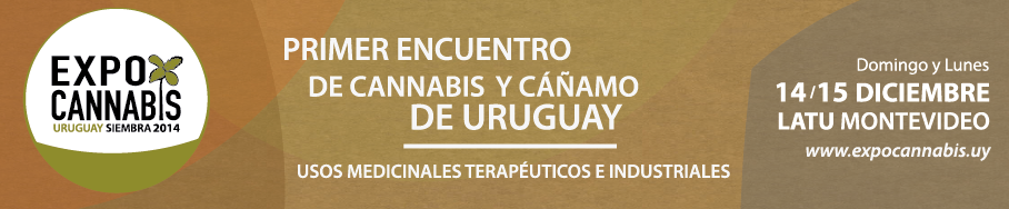 PARCEIRO OFICIAL DA EXPOCANNABIS URUGUAY 2014