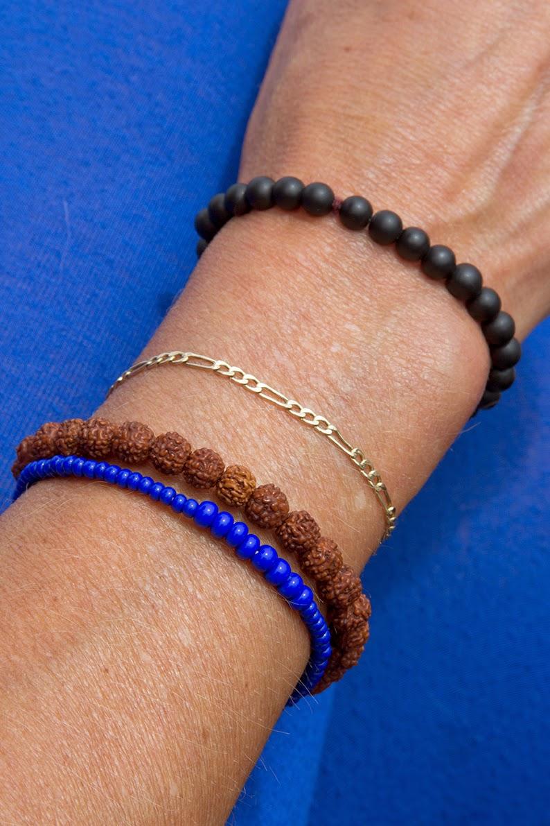 wrist with bracelets