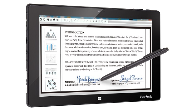 ViewSonic PT1080 Pen Tablet
