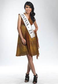 MISS INDONESIA 2011 CONTESTANT - Johanna Sharon C