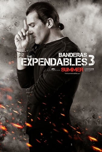 Antonio Banderas The Expendables 3