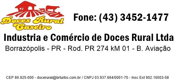 DOCES RURAL CASEIRO