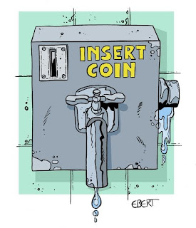 Νερό με το ATM…(ΕΞΑΙΡΕΤΙΚΟ). Του Άρη Χατζηστεφάνου