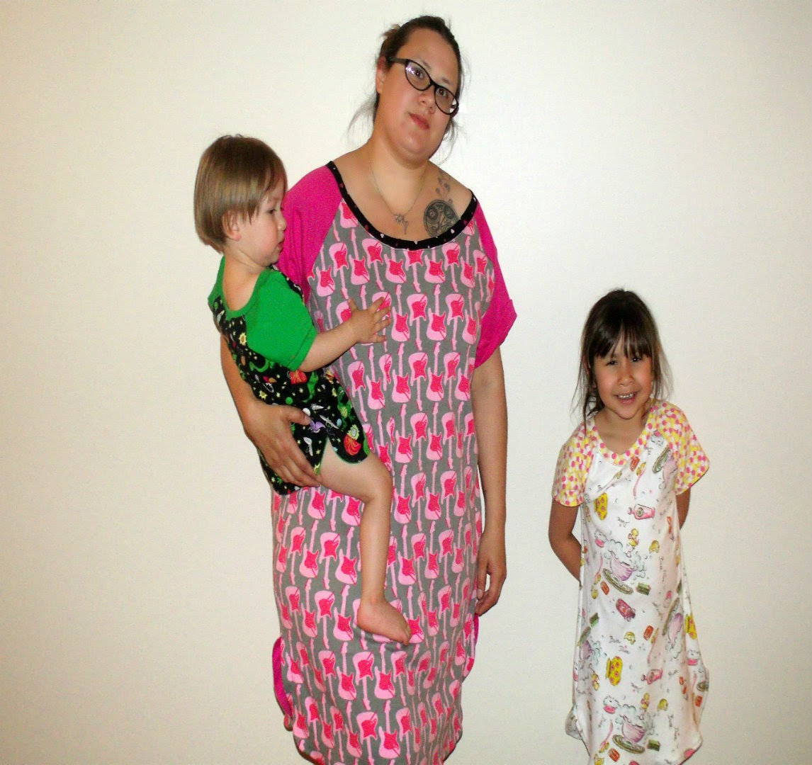 Riley's and Callie's Nightgown and Shirt from EYMM by Keep Calm and Carrion