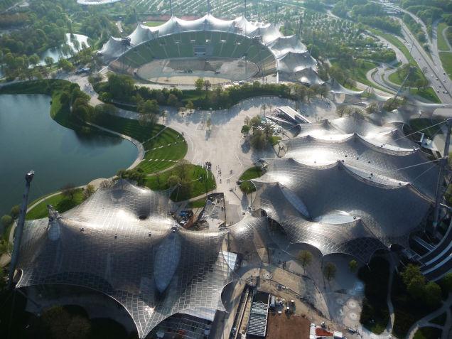 Olympic stadium Munich, by Frei Otto 1972