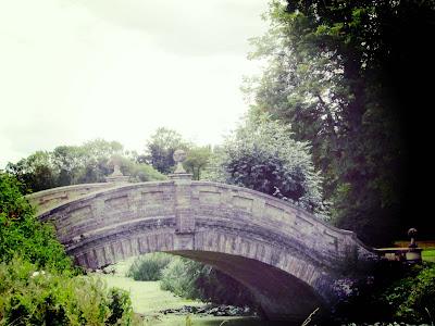 Bridge, lake, Wrest Park, garden, visit, English Heritage
