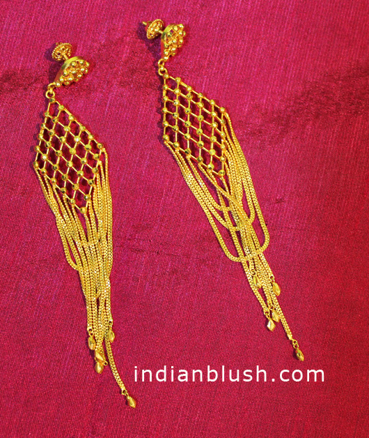 Jhumko / Jhumka (Bengali name)/ Chandelier earrings